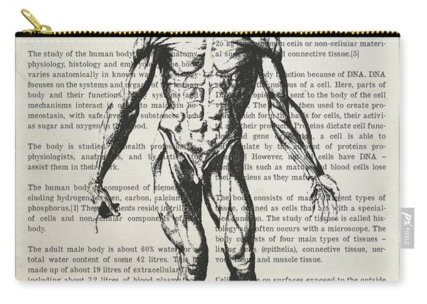 The Human Body Illustation 01 Carry-all Pouch