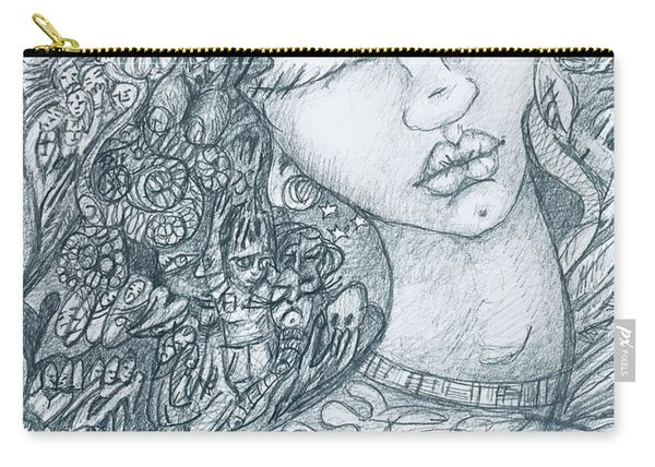The Immigrant Heart Carry-all Pouch