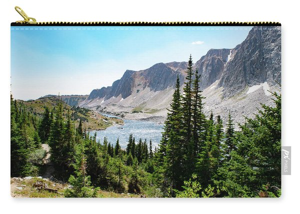 The Lakes Of Medicine Bow Peak Carry-all Pouch
