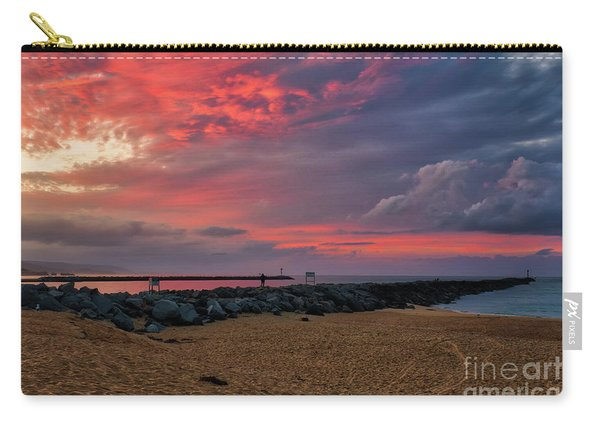 The Last Sunrise Of 2018 Carry-all Pouch