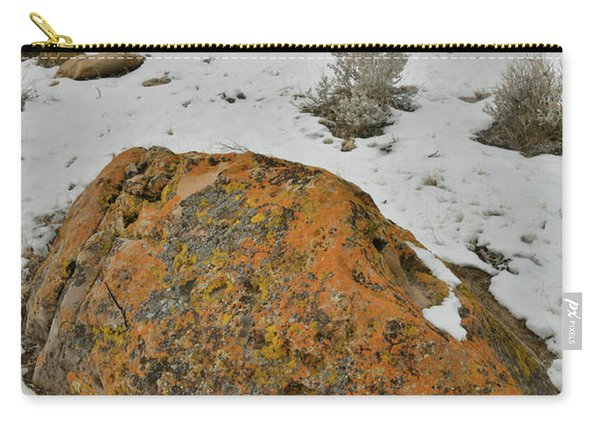 The Lichen Covered Boulders Of The Book Cliffs Carry-all Pouch