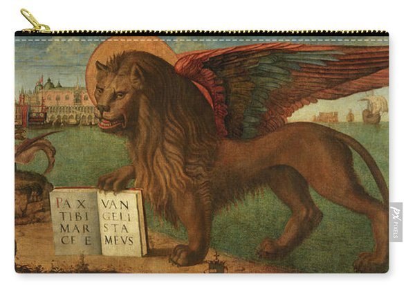 The Lion Of Saint Mark, 1516 Carry-all Pouch