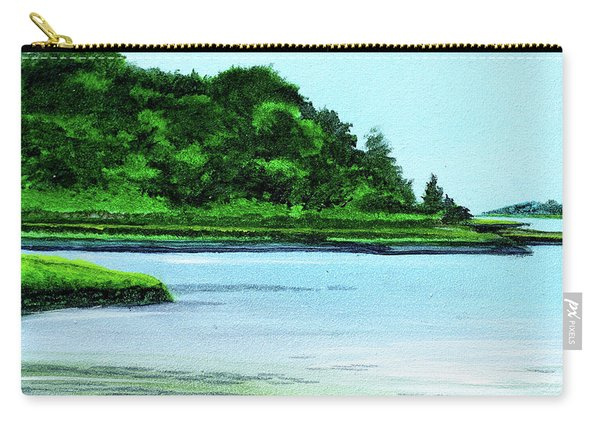 The Little River Gloucester, Ma Carry-all Pouch