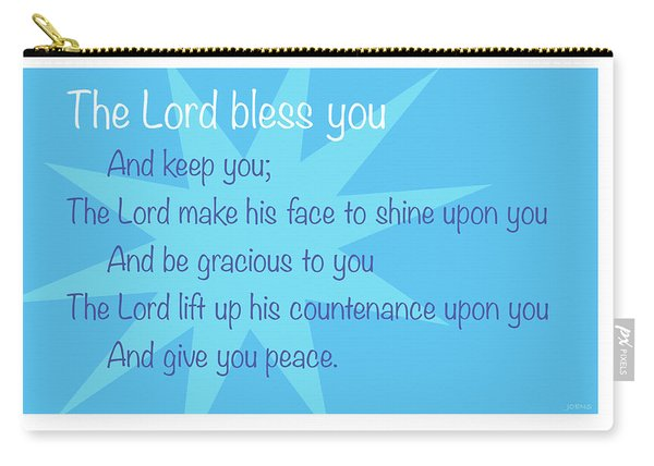 The Lord Bless You Carry-all Pouch