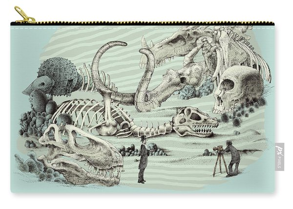The Lost Beach Carry-all Pouch