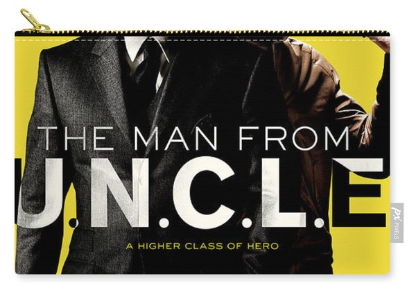 The Man From U.n.c.l.e. Carry-all Pouch