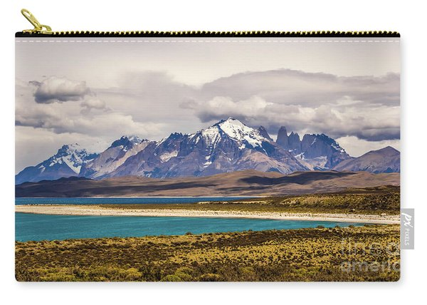The Mountains Of Torres Del Paine National Park, Chile Carry-all Pouch