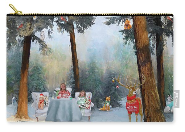 The Mystical Magical Wonders Of The Forest Carry-all Pouch