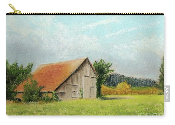 The Old Barn In The Meadow Carry-all Pouch
