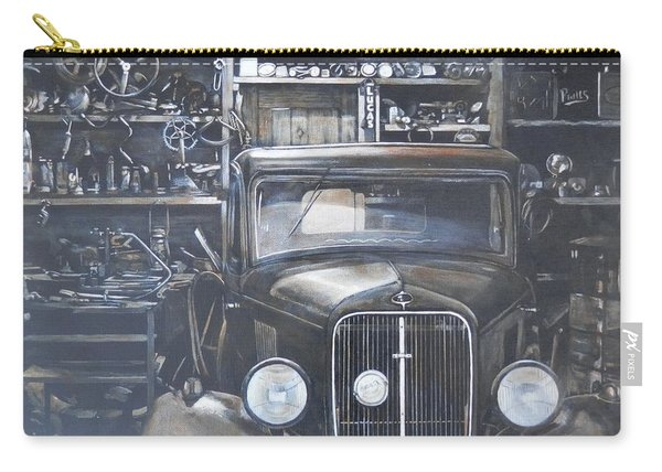 The Old Garage Carry-all Pouch