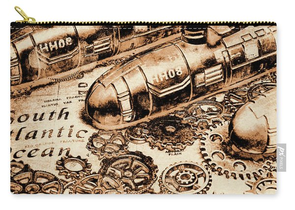 The Old Naval War Room Carry-all Pouch