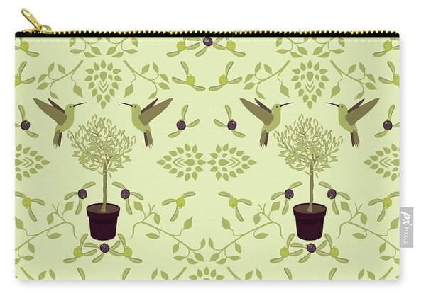The Olive Tree Carry-all Pouch