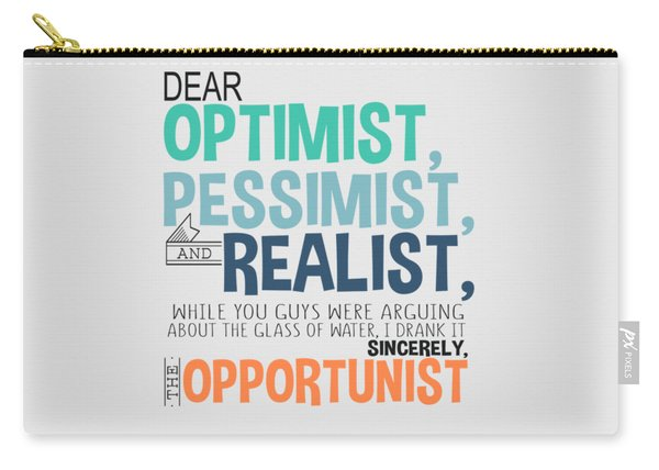 The Opportunist Carry-all Pouch