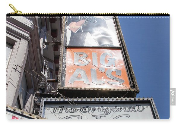 The Original Big Als Adult Strip Clubs On Broadway San Francisco R708 Sq Carry-all Pouch