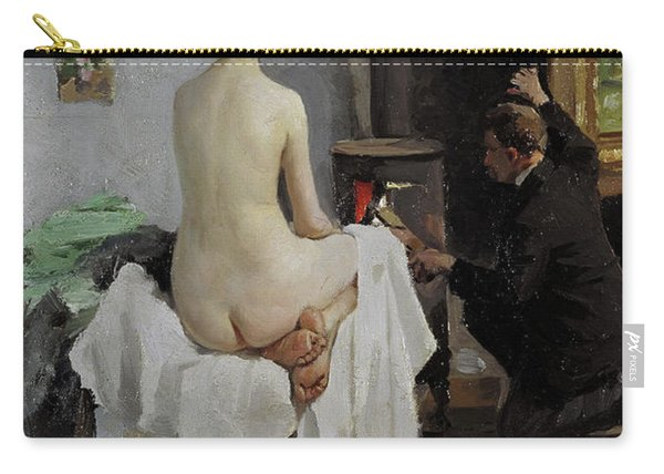 The Painter's Studio, 1896 Carry-all Pouch