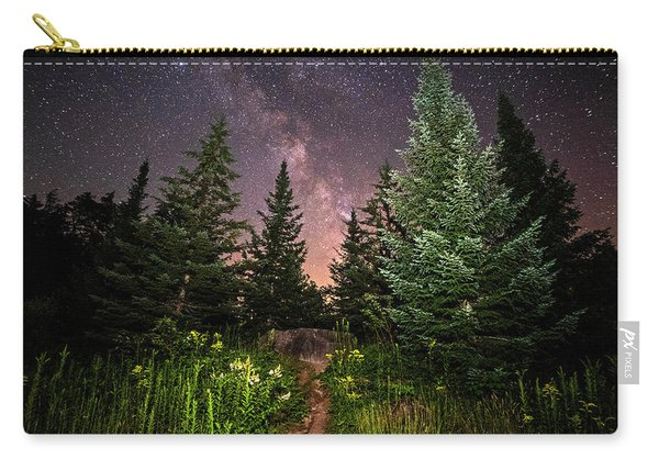 The Path To The Milky Way In Albany New Hampshire Carry-all Pouch