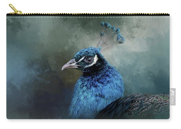 The Peacock's Crown Carry-all Pouch