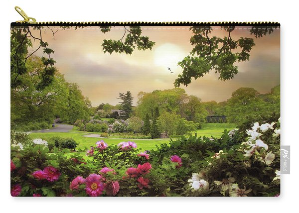 The Peony Garden Carry-all Pouch