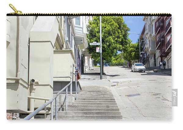 The Peter Macchiarini Kearny Street Steps San Francisco R471 Sq Carry-all Pouch