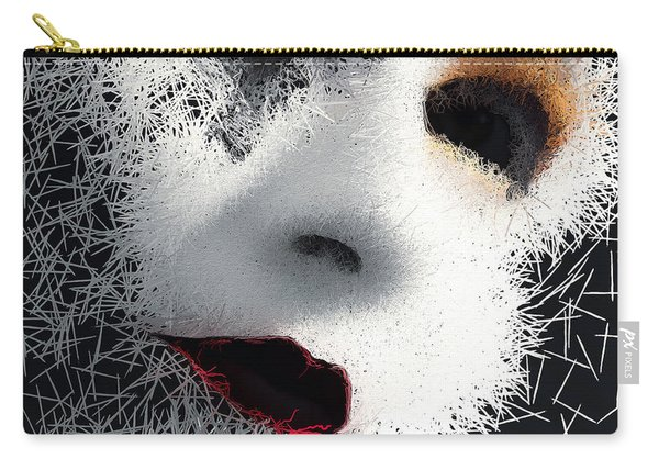 Carry-all Pouch featuring the digital art The Phantom Of The Arts by ISAW Company