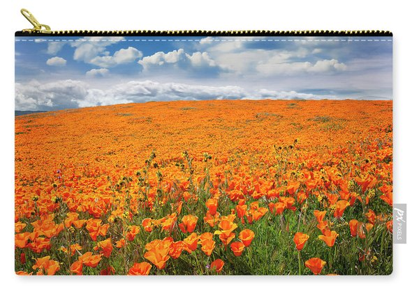 The Poppy Field Carry-all Pouch