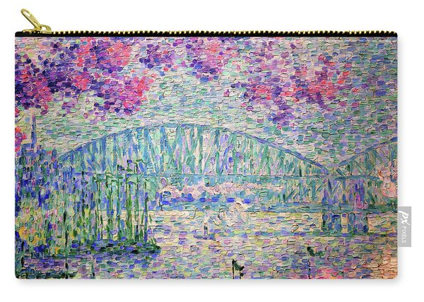 The Port Of Rotterdam, 1907 - Digital Remastered Edition Carry-all Pouch