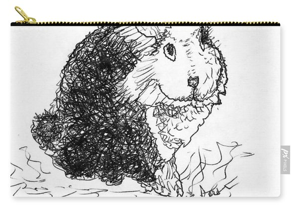 The Rabbit Lady Drawing Carry-all Pouch