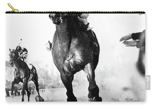 The Race Of The Century, Seabiscuit And War Admiral, Pimlico Race Course Carry-all Pouch