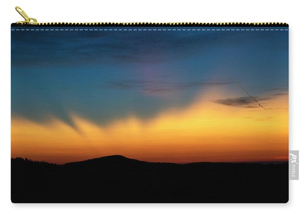 The Rays Of Dawn Carry-all Pouch