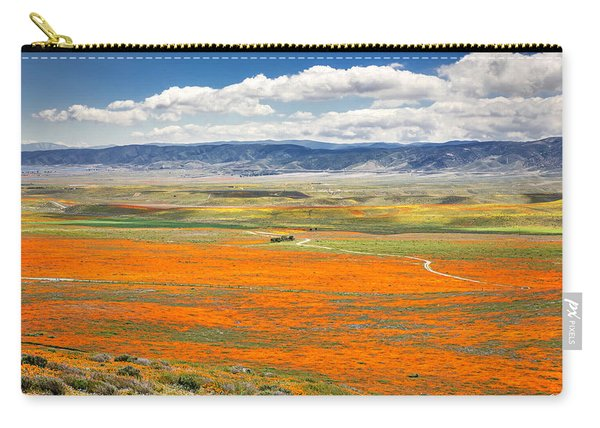 The Road Through The Poppies 2 Carry-all Pouch