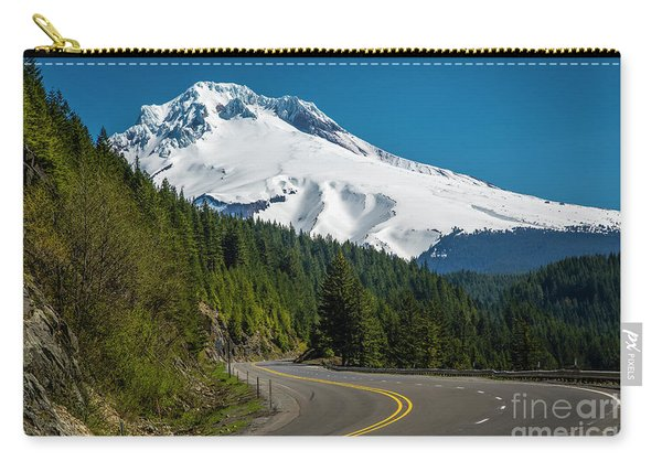 The Road To Mt. Hood Carry-all Pouch