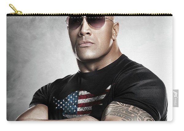 The Rock Dwayne Johnson I I Carry-all Pouch