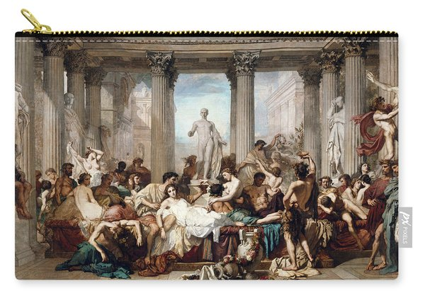 The Romans In Their Decadence Carry-all Pouch