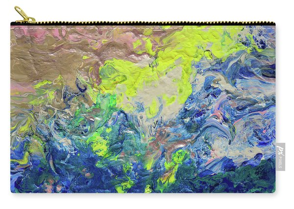 The Sea Once Tranquil Carry-all Pouch