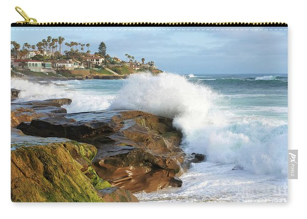 The Sea Was Angry That Day My Friends Carry-all Pouch