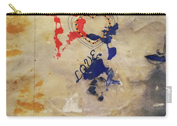 The Shadows Of Love Carry-all Pouch