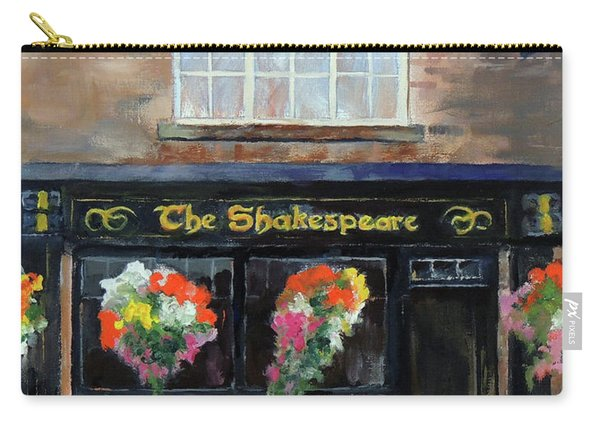 The Shakespeare Carry-all Pouch