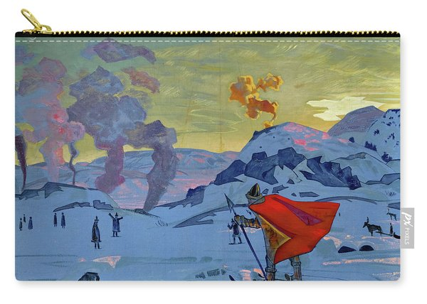 The Signal Fires Of Peace, 1917-1918 Carry-all Pouch