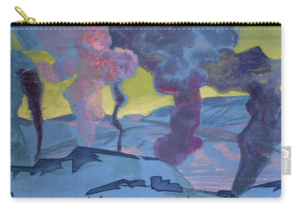 The Signal Fires Of Peace - Detail Carry-all Pouch