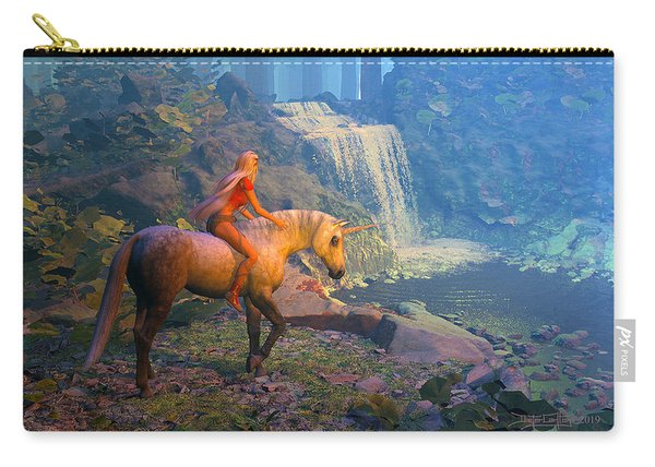 The Silver Horn Carry-all Pouch