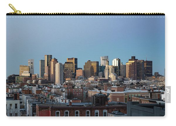 The Skyline Of Boston In Massachusetts, Usa On A Clear Winter Ev Carry-all Pouch