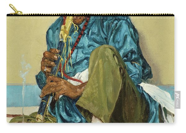 The Song Of The Olla, 1926 Carry-all Pouch