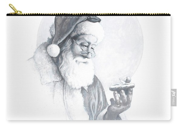 The Spirit Of Christmas Vignette Carry-all Pouch