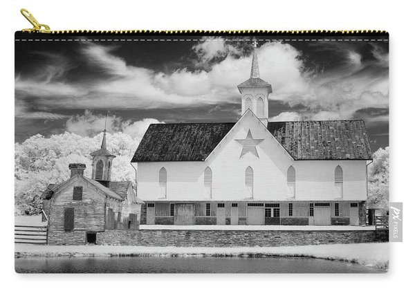 The Star Barn In Infrared Carry-all Pouch