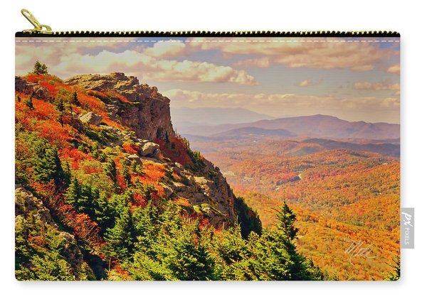 The Summit In Fall Carry-all Pouch