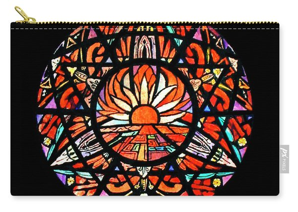 the Sun is Aflame Carry-all Pouch