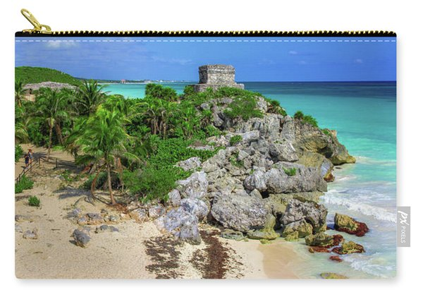 The Temple By The Sea Carry-all Pouch