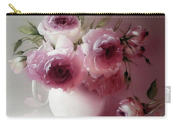The Tender Fragrance Of Roses Carry-all Pouch