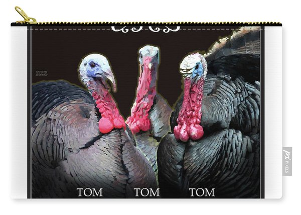 The Three Terrors Carry-all Pouch