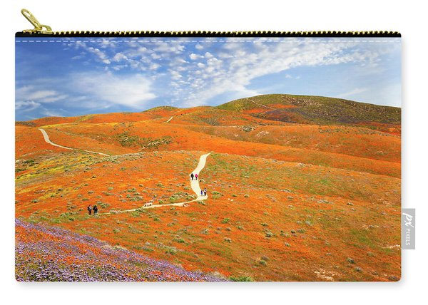 The Trail Through The Poppies Carry-all Pouch